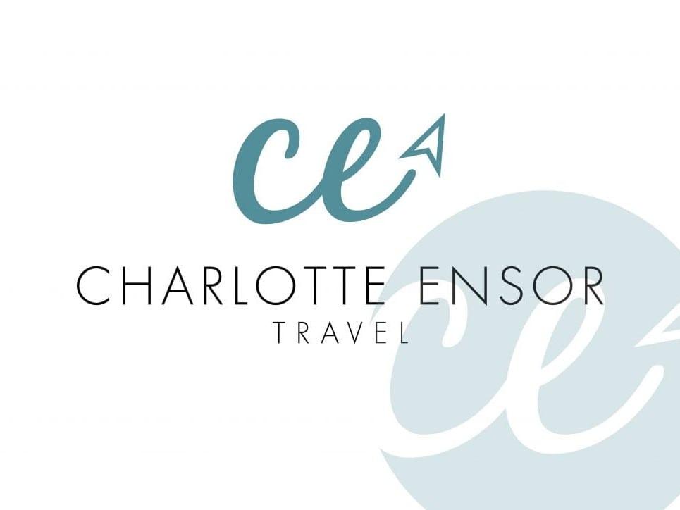 Charlotte Ensor Travel Logo Design